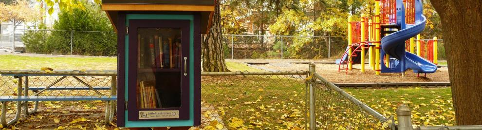 Little Free Libraries in Oregon